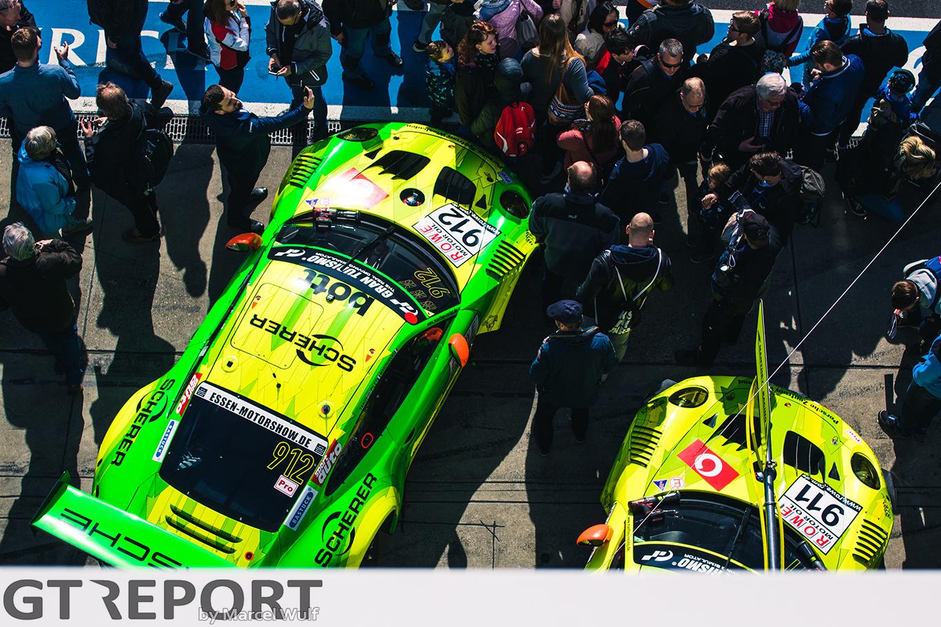 VLN2 race report: Crash, repair, win | GT REPORT